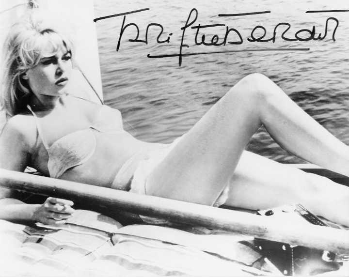 Bardot, Brigitte (1934-) - lying on deck<b> SOLD